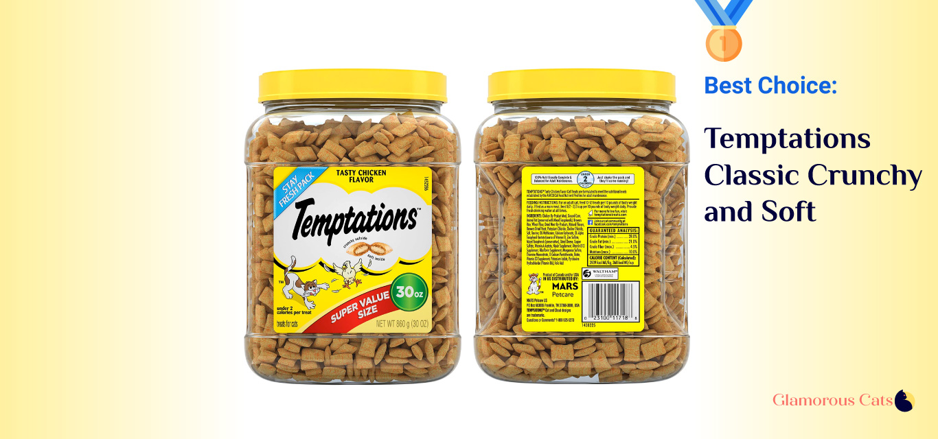 Temptations Classic Crunchy and Soft