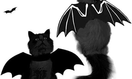 Spooktacular Creations Halloween Bat Wings Cat Pet Costume for Cosplay Party, Halloween Party Decoration, Holiday Decorations Clothing, Cat Dress Up Accessories